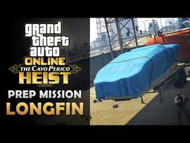 GTA Online- The Cayo Perico Heist Prep - Longfin -Solo-