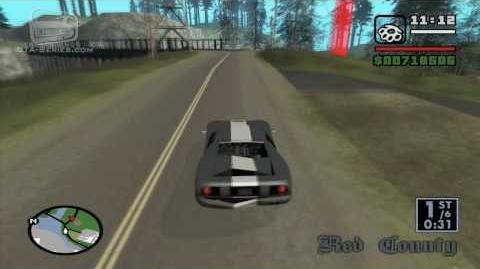 GTA_San_Andreas_-_Walkthrough_-_Street_Race_-_Country_Endurance_(HD)