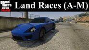 GTA Online Tracks - Land Races (A-M)