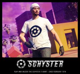 SchysterTShirt-GTAO-Advertisement