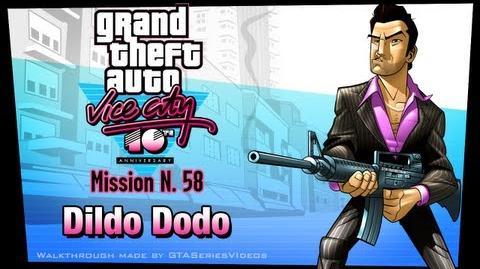 GTA Vice City - iPad Walkthrough - Mission 58 - Dildo Dodo