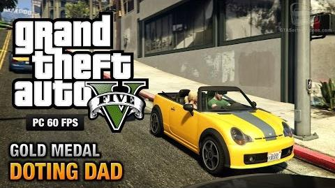GTA 5 PC - Mission 64 - Doting Dad (Optional Mission) Gold Medal Guide - 1080p 60fps