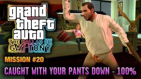 GTA_The_Ballad_of_Gay_Tony_-_Mission_20_-_Caught_with_your_Pants_Down_100%_(1080p)