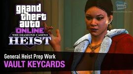 GTA Online The Diamond Casino Heist - Heist Prep Vault Keycards Solo (Duggan Goons)