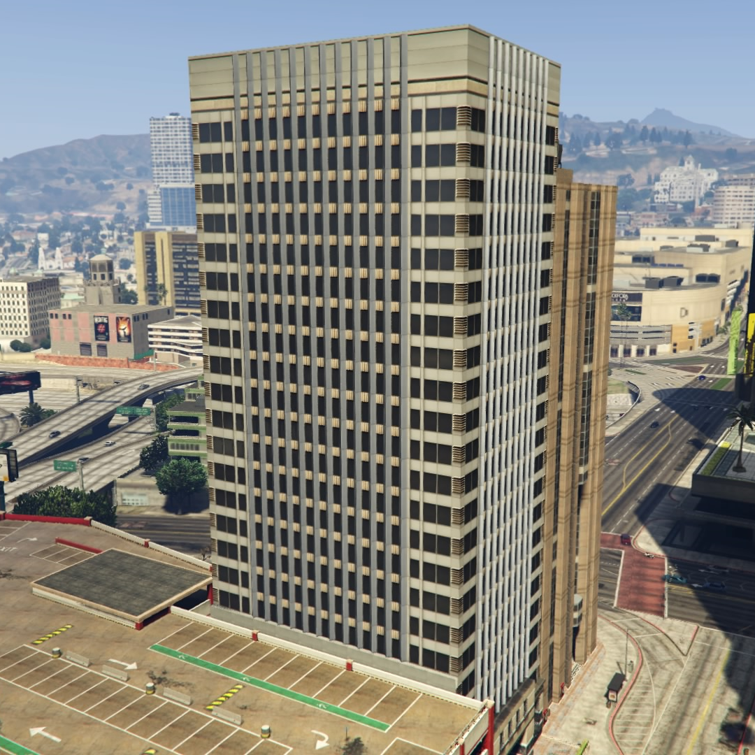 Peaceful Street Building