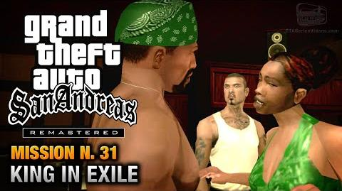 GTA San Andreas Remastered - Mission 31 - King in Exile (Xbox 360 PS3)