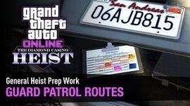 GTA Online The Diamond Casino Heist - Heist Prep Guard Patrol Routes Solo