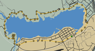 Tour The Lake GTAO Race Map.png