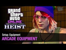 GTA Online The Diamond Casino Heist - Setup- Equipment Arcade