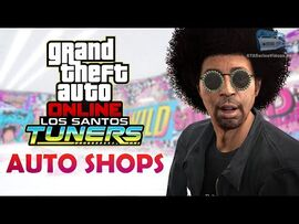 GTA Online- Los Santos Tuners - All Auto Shop Interiors and Upgrades