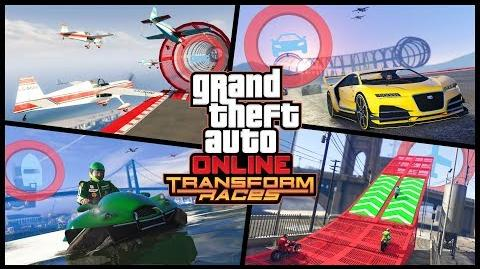 GTA Online Transform Races Trailer