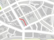 Little Portola GTAV Map Location