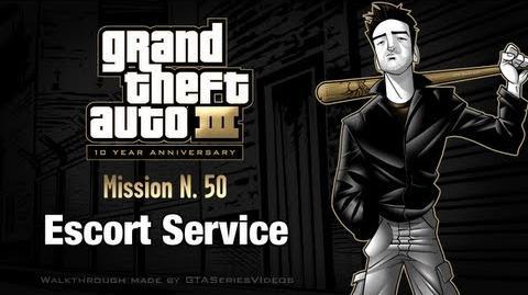 GTA 3 - iPad Walkthrough - Mission 50 - Escort Service
