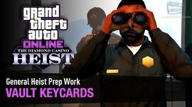 GTA Online The Diamond Casino Heist - Heist Prep Vault Keycards Solo (Prison)