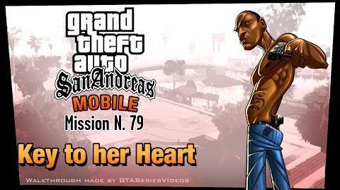 GTA San Andreas - iPad Walkthrough - Mission 79 - Key to her Heart Keycard Acquired (HD)