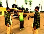 Grand Theft Auto San Andreas - Clip 13 - Grove Family