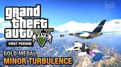 GTA 5 - Mission 47 - Minor Turbulence First Person Gold Medal Guide - PS4