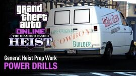 GTA Online The Diamond Casino Heist - Heist Prep Power Drills Solo (Construction Van)