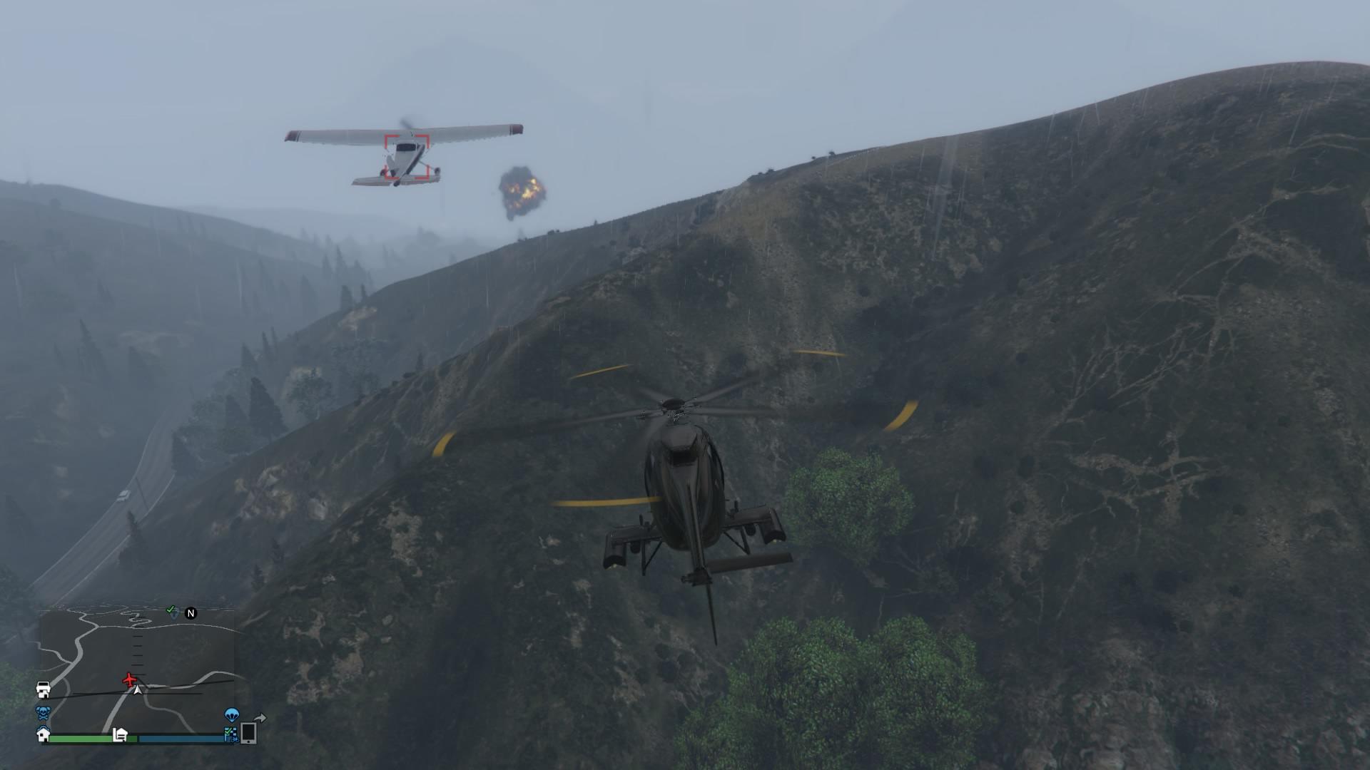 Aircraft Takedown