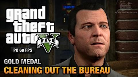 GTA 5 PC - Mission 61 - Cleaning out the Bureau Gold Medal Guide - 1080p 60fps