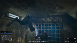 TheCayoPericoHeist-GTAO-CompoundEntry-DrainageTunnel-TeamWait