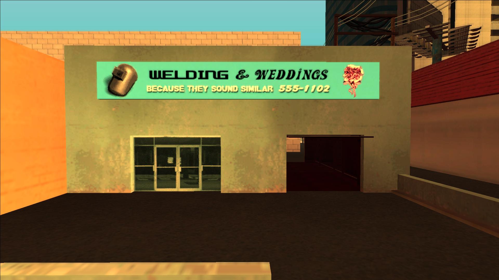 Welding & Weddings