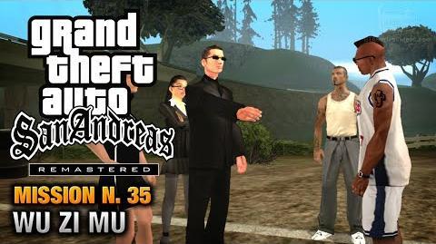 GTA San Andreas Remastered - Mission 35 - Wu Zi Mu (Xbox 360 PS3)