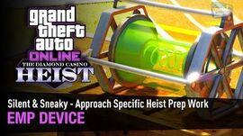 GTA Online The Diamond Casino Heist - Heist Prep EMP Device Silent & Sneaky - Solo