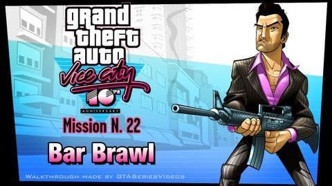 GTA Vice City - iPad Walkthrough - Mission 22 - Bar Brawl