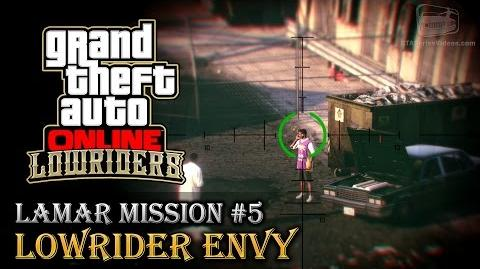 GTA Online Lowriders - Mission 5 - Lowrider Envy Hard Difficulty