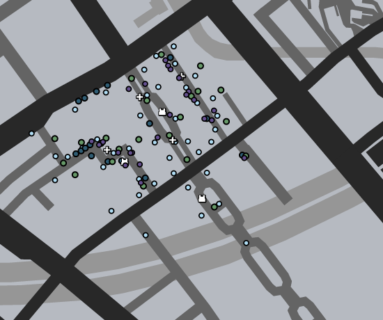 North Rockford Deathmatch GTAO Map.png