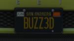 Custom Plate GTAO BUZZ3D