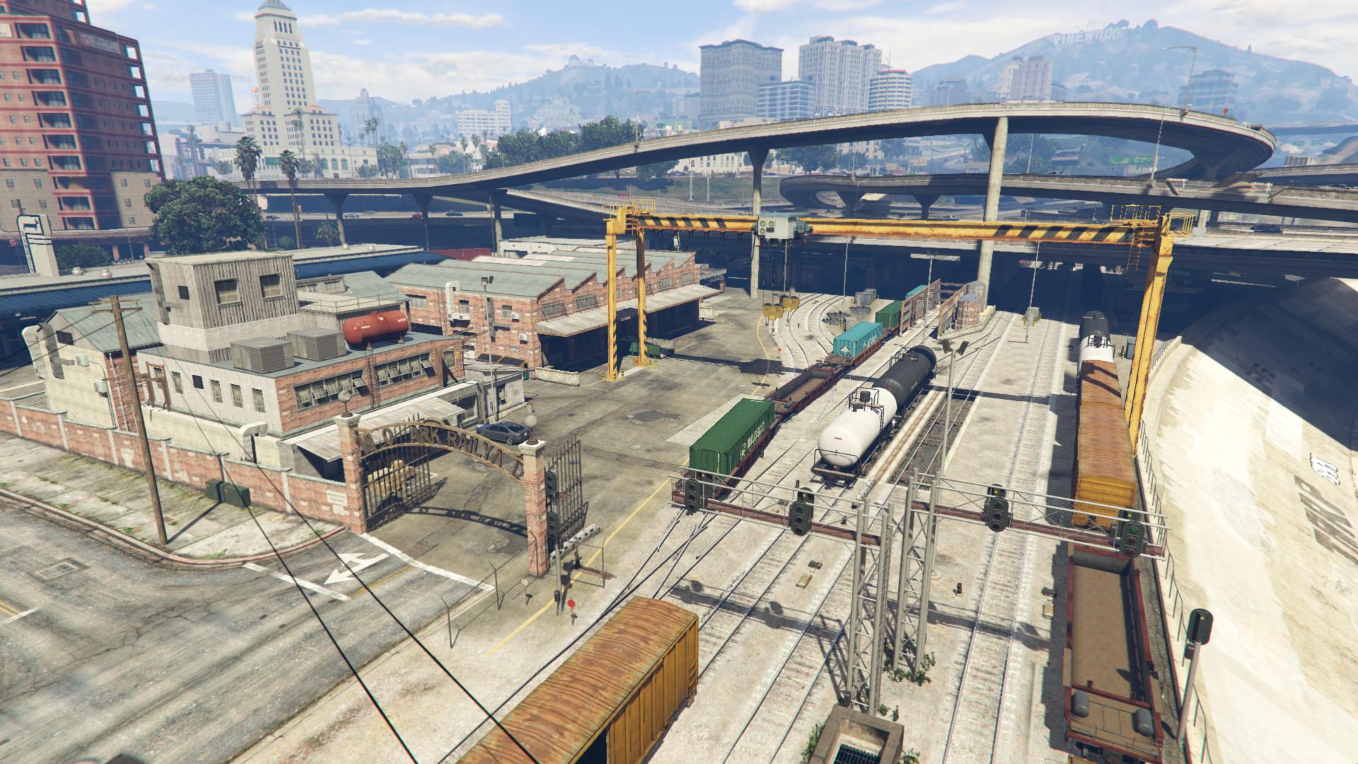 Mirror Park Railyard