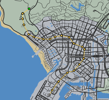 Chopper Cruise GTAO Race Map.png