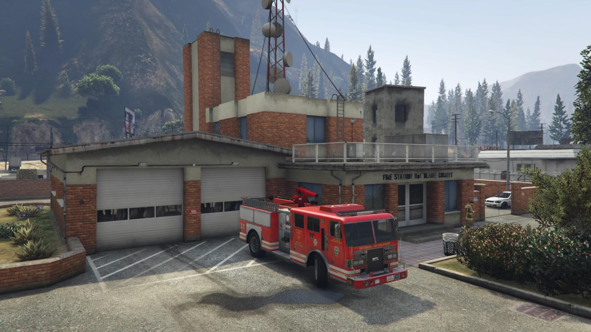 Paleto Bay Fire Station