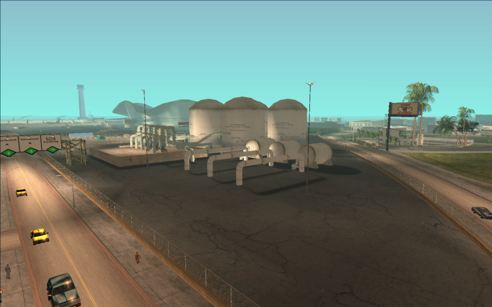 Vice City International Airport Fuel Depot