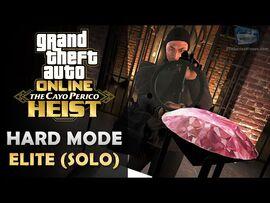 GTA Online- The Cayo Perico Heist Finale in Hard Mode - Elite Challenge -Solo-