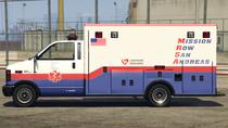 Ambulance-GTAV-Side