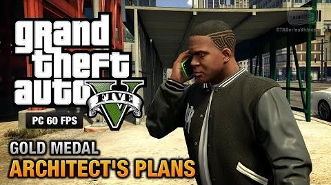 GTA 5 PC - Mission 63 - Architect's Plans Gold Medal Guide - 1080p 60fps