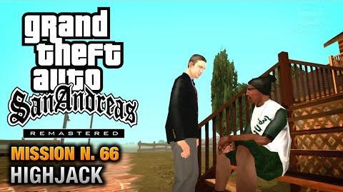 GTA San Andreas Remastered - Mission 66 - Highjack (Xbox 360 PS3)