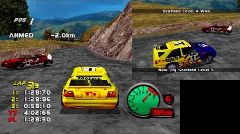 Gekisou!! Grand Racing - Scotland 4 - Baptiste Lapped (Roberts)
