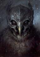 Polish book illustration metal beak
