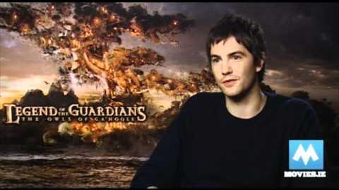 Jim Sturgess talks Legend of the Guardians The Owls of Ga'Hoole 3D - Jim voices Soren