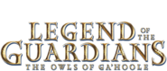 Legend of the guardians title isolated