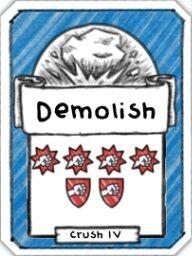 Demolish- Level 4