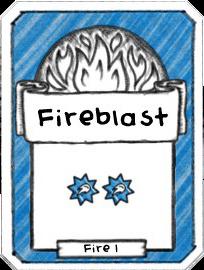 Fireblast - Level 1