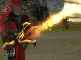 Épée de dragon incendiaire