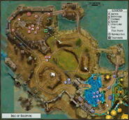 Isle of Solitude Map Key