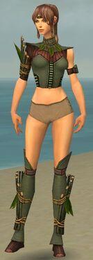 Ranger Druid Armor F gray chest feet front.jpg