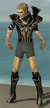 Necromancer Elite Sunspear Armor M gray chest feet front.jpg